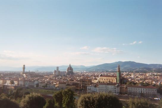 View of Florence from the Piazzale Michelangelo
