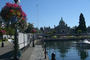 Victoria legislature building and harbor 1