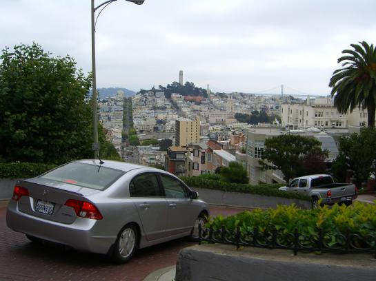San Francisco's Lombard Street is the most crooked in the world.