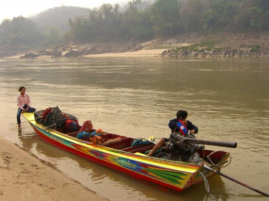 Mekong River 43 engine repair