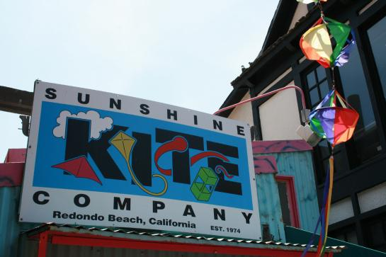 The Sunshine Kite Company in Redondo Beach