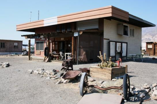 The Outpost general store in Ballarat, California