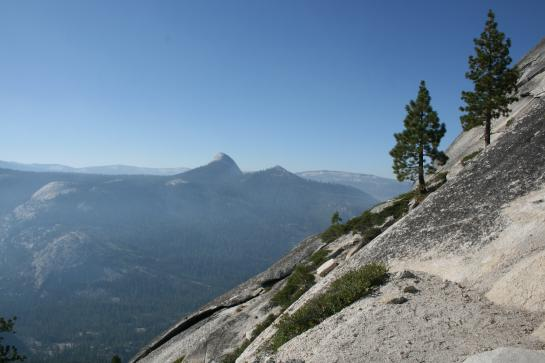 View from Half Dome sub-dome