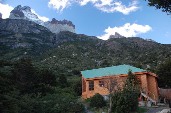 Refugio Los Cuernos in Torres del Paine National Park, Chile