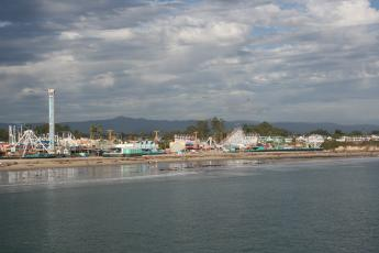 The Santa Cruz Beach Boardwalk is California's oldest surviving seaside amusement park.
