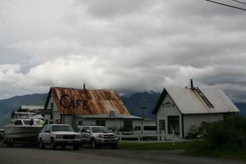 Seaview Cafe exterior