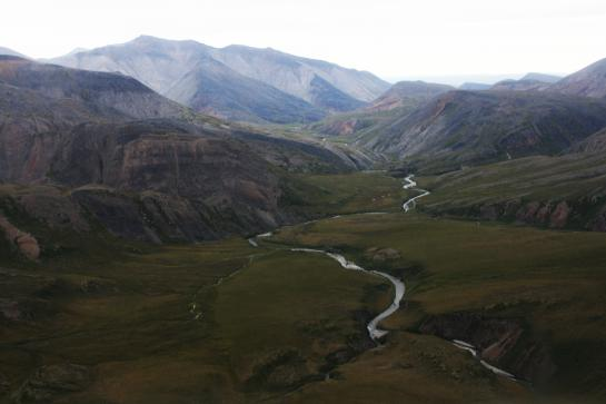 Rivers flow through the Arctic National Wildlife Refuge.