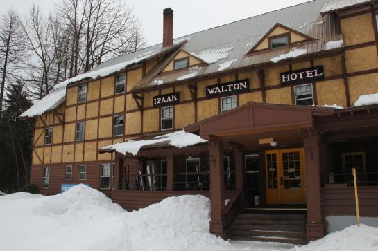 The Izaak Walton Inn in Essex, Montana