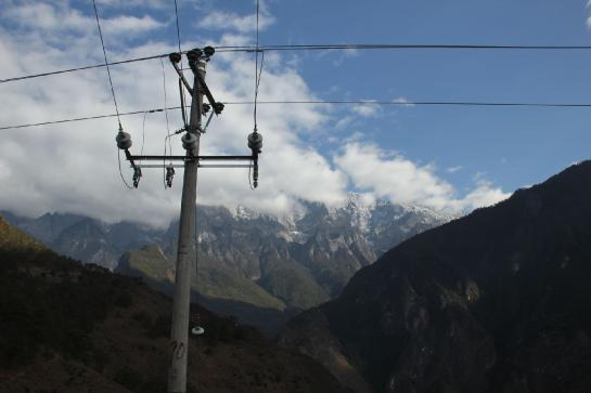 Signs of development are starting to creep into China's Tiger Leaping Gorge.