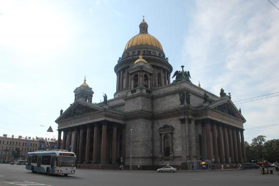 St. Isaac's Cathedral is one of St. Petersburg's most well-known landmarks.