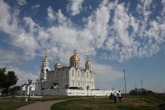 The Assumption Cathedral in Vladimir, Russia is a UNESCO World Heritage site.