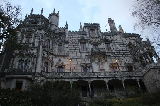 The palace at the Quinta da Regaleira estate is imposing.