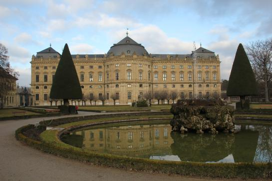 The Würzburg Residence in Würzburg, Germany is a UNESCO World Heritage Site.
