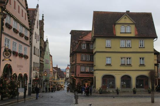 Rothenburg ob der Tauber is a well-preserved medieval town on Germany's Romantic Road.