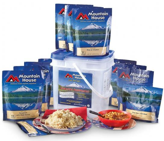 Mountain House Freeze Dried Meals