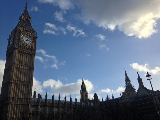 Big Ben at the Palace of Westminster is London's most iconic landmark.