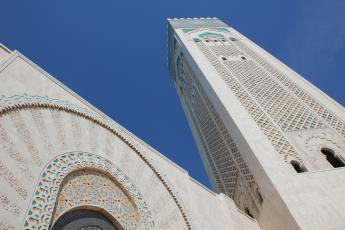 King Hassan II Mosque exterior