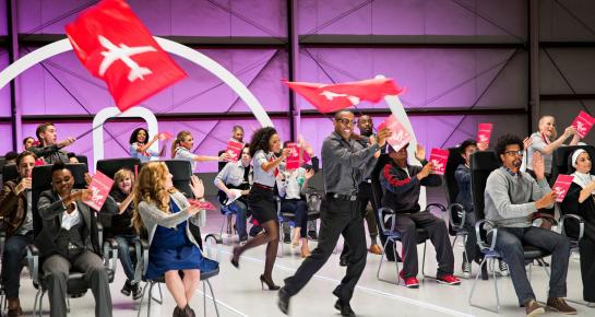 The Virgin America Safety Dance
