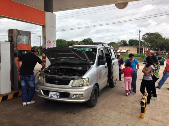 In Bolivia, all vehicle passengers are required to exit the car during refueling.