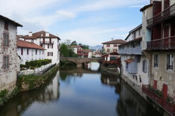 Saint-Jean-Pied-de-Port, France is the most common starting point for the 550-mile hike across Spain on the Camino de Santiago.