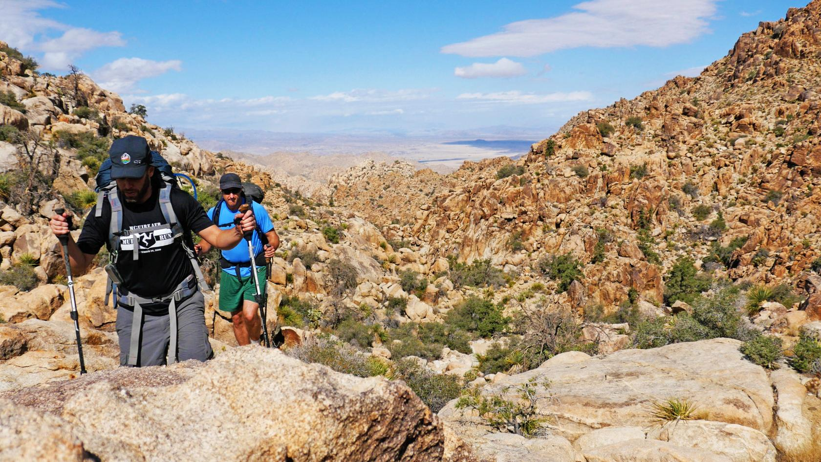 essays by date out baggage brian and hank hike through joshua tree s wonderland of rocks
